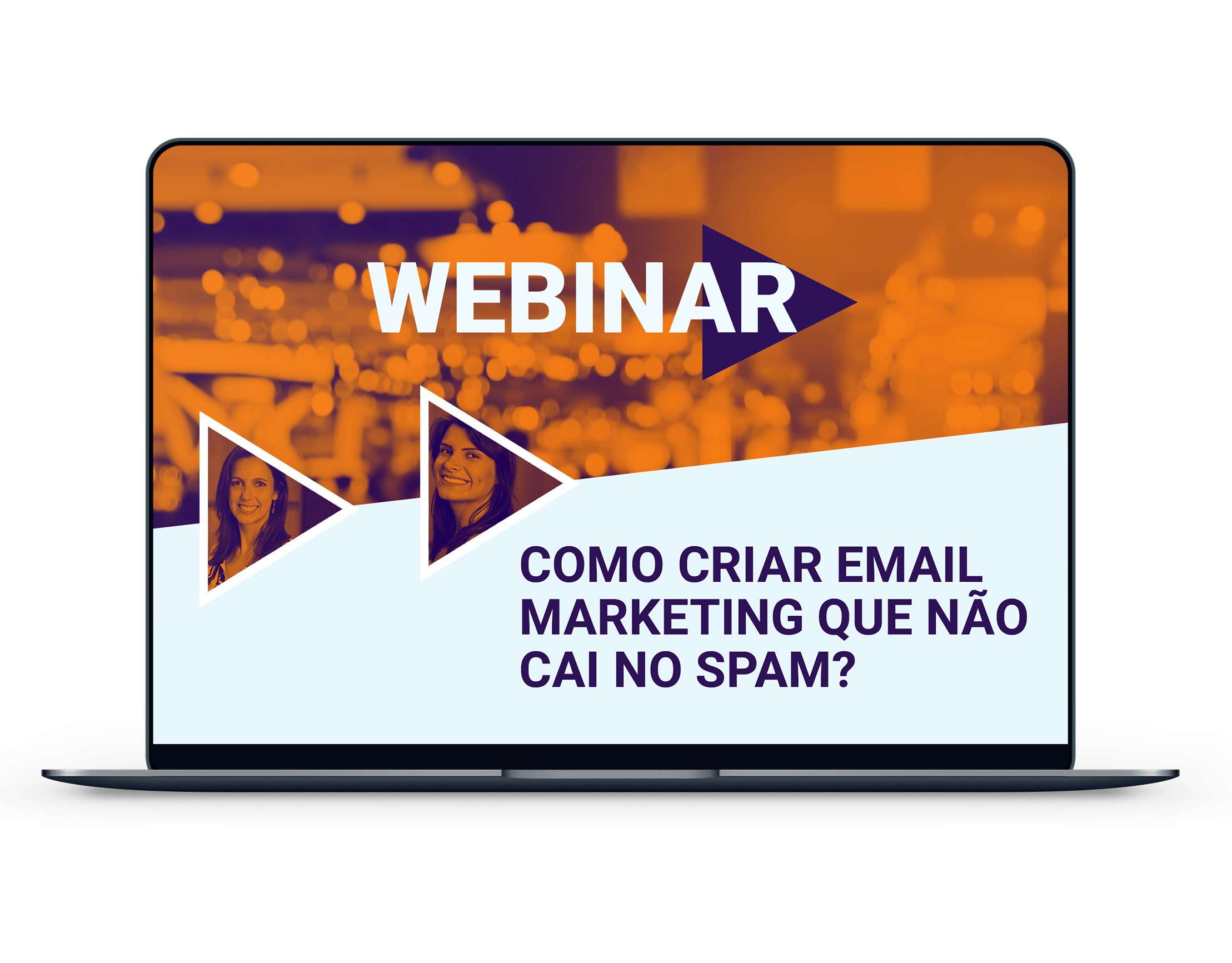 email marketing sem spam webinar kinghost chamada